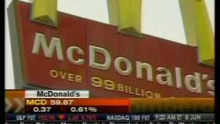 McDonald's US Sales Chain 2.8% Missing Est. - Bloomberg
