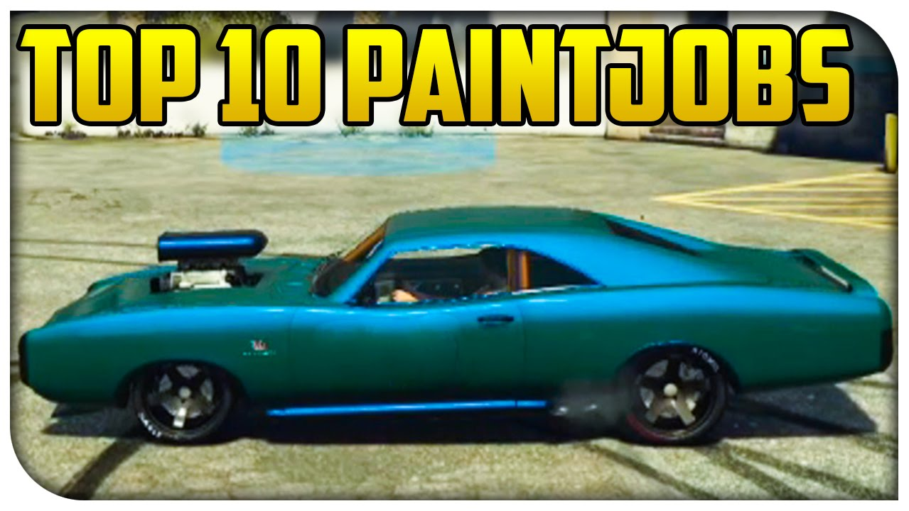 Top 10 Best Looking Paint Jobs in GTA 5 Online Touch Up