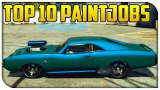 "Top 10 ""Best Looking Paint Jobs"" in GTA 5 Online! (Touch Up Tuesday)"