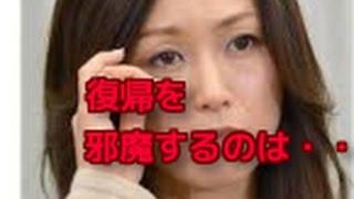 酒井法子の元夫が危険ドラッグ所持でまた逮捕・・・ 完全に縁を切ること...