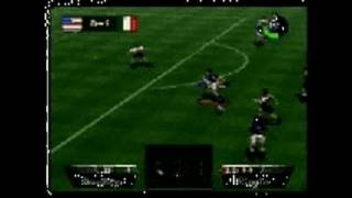 International Superstar Soccer 64 Nintendo 64 Gameplay -