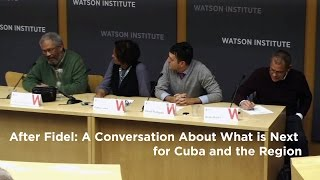 After Fidel: A Conversation About What is Next for Cuba and the Region(, 2016-12-07T21:41:05.000Z)