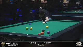 INCREDIBLE FINAL! Carlo Biado VS Yu Hsuan Cheng   2019 WPA Players Championship Main Event