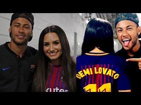 Demi lovato is dating neymar