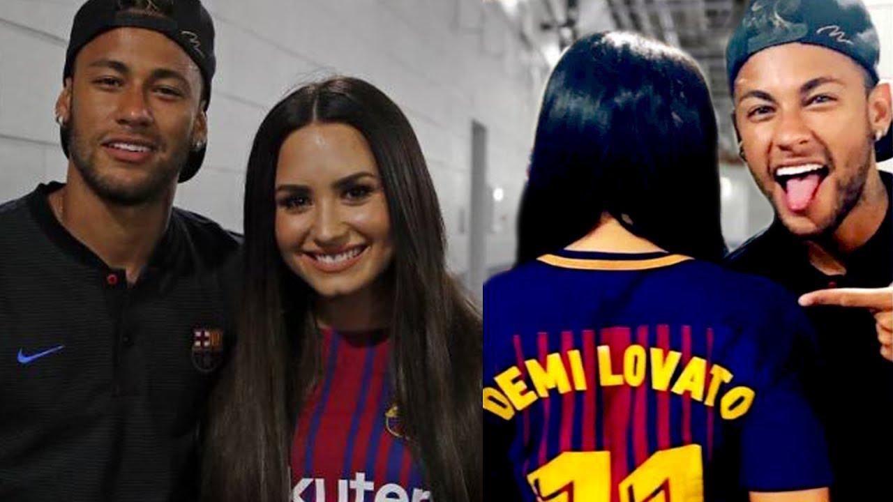Demi Lovato Y Neymar Juntos
