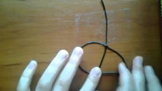 Плетем фенечки. Видео - урок №2