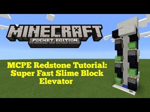 Minecraft Pocket Edition Redstone Tutorial Super Fast