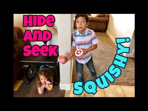HIDE and SEEK SQUISHY SCAVENGER HUNT