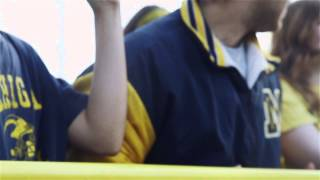 Michigan Stadium Student Pump-Up Video