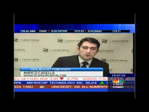 Marco Casella on CNBC Italy (01-09-2012)
