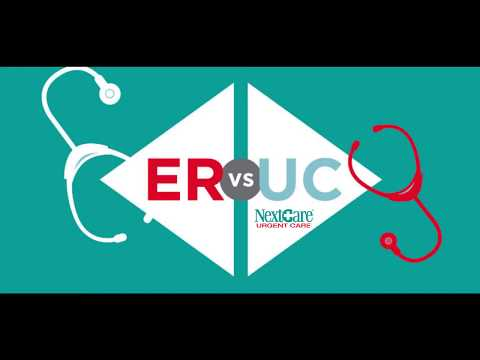 ER vs Urgent Care - Are you paying to much at the Emergency Room?