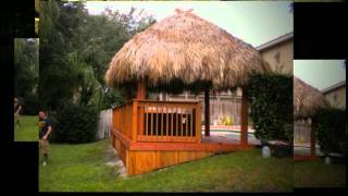 Custom Tiki Huts, Bar Builder & Repair (954) 282-9242 Deerfield Beach Fl