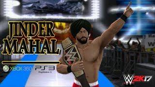 WWE 2K17 Community Showcase:Jinder Mahal(XBOX 360/PS3)