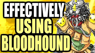 HOW TO EFFECTIVELY USE BLOODHOUND TO GET HIGH KILL GAMES (APEX LEGENDS WALKTHROUGH)