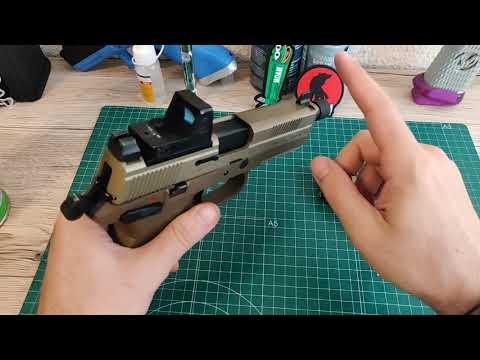Review FNX 45 🔫 Cybergun by VFC ➕ upgrades 🍬