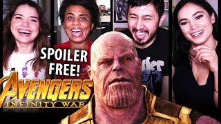 AVENGERS INFINITY WAR   SPOILER-FREE MOVIE REVIEW