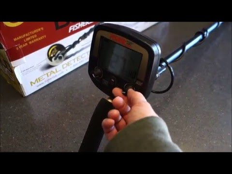 Metal Detecting:  Fisher Gold Bug Review and Testing