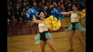 Arlington High and Miss Dance Drill Team Japan Have Cultural Exchange