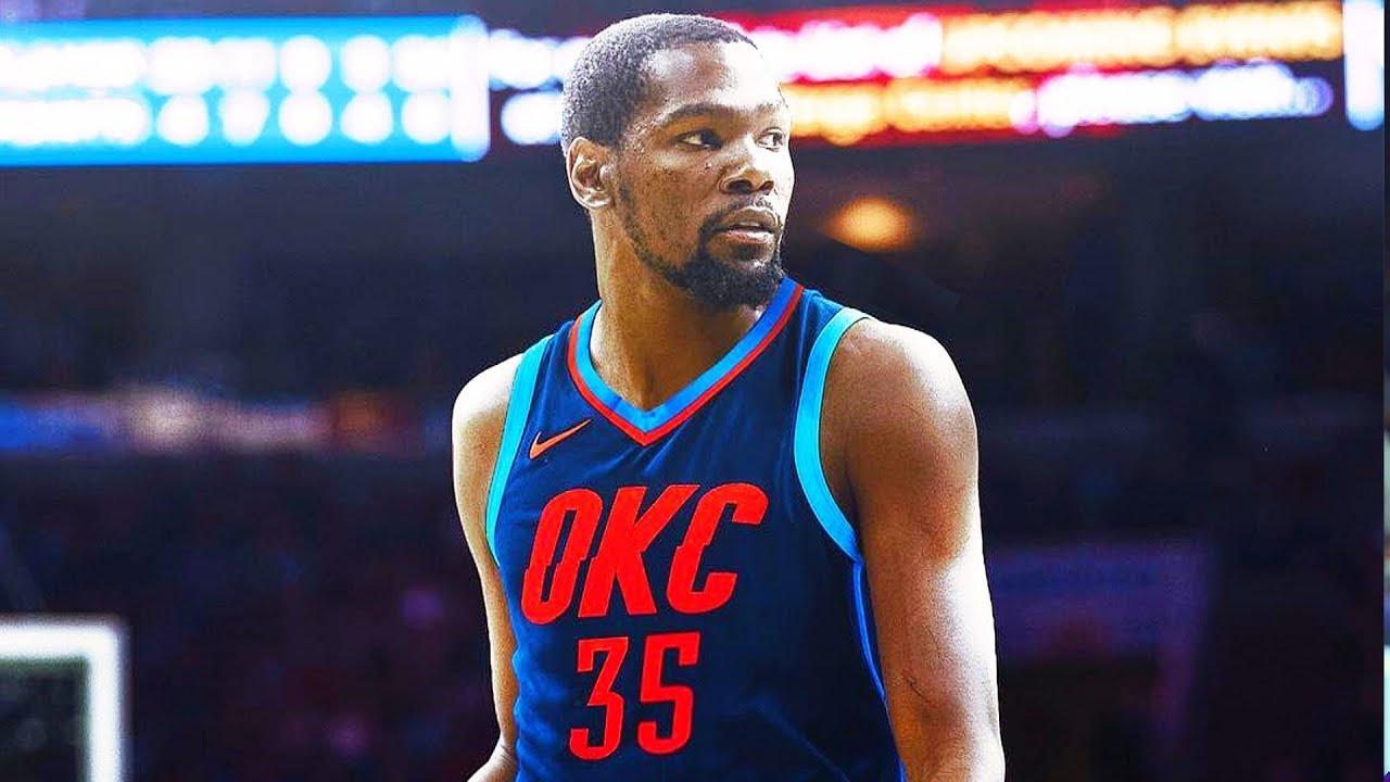 07c0244bd627 Kevin Durant Rejoins Oklahoma City Thunder - YouTube