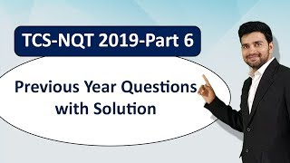 Shortcut for One of the Most Confusing Question asked by TCS ! TCS -Previous Year Questions Part 6!
