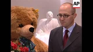 The enduring popularity of German Steiff teddy bears