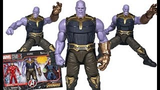 Marvel Legends MCU The First Ten Years Avengers Infinity War Thanos Figure Review