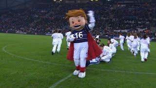 euro 2016 mascot makes first public appearance