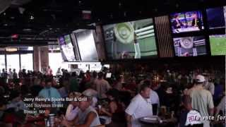 The Sports Bar Challenge: Jerry Remy's Sports Bar & Grill