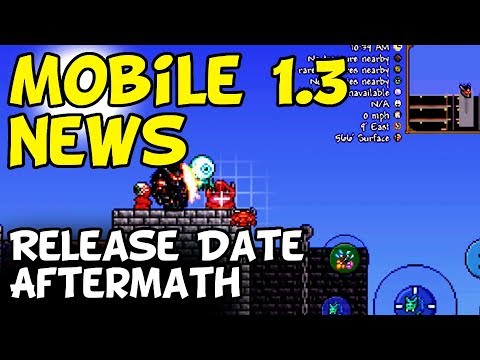 Terraria Mobile 1.3 News - Release Date Aftermath [iOS, Android]