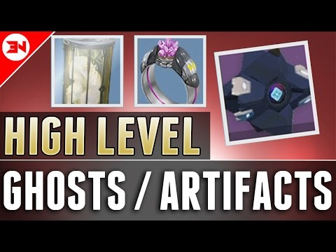 How To Get 395+ Light Artifacts & 395+ Ghosts Effectively! - Destiny Rise Of Iron Light Grind to 400