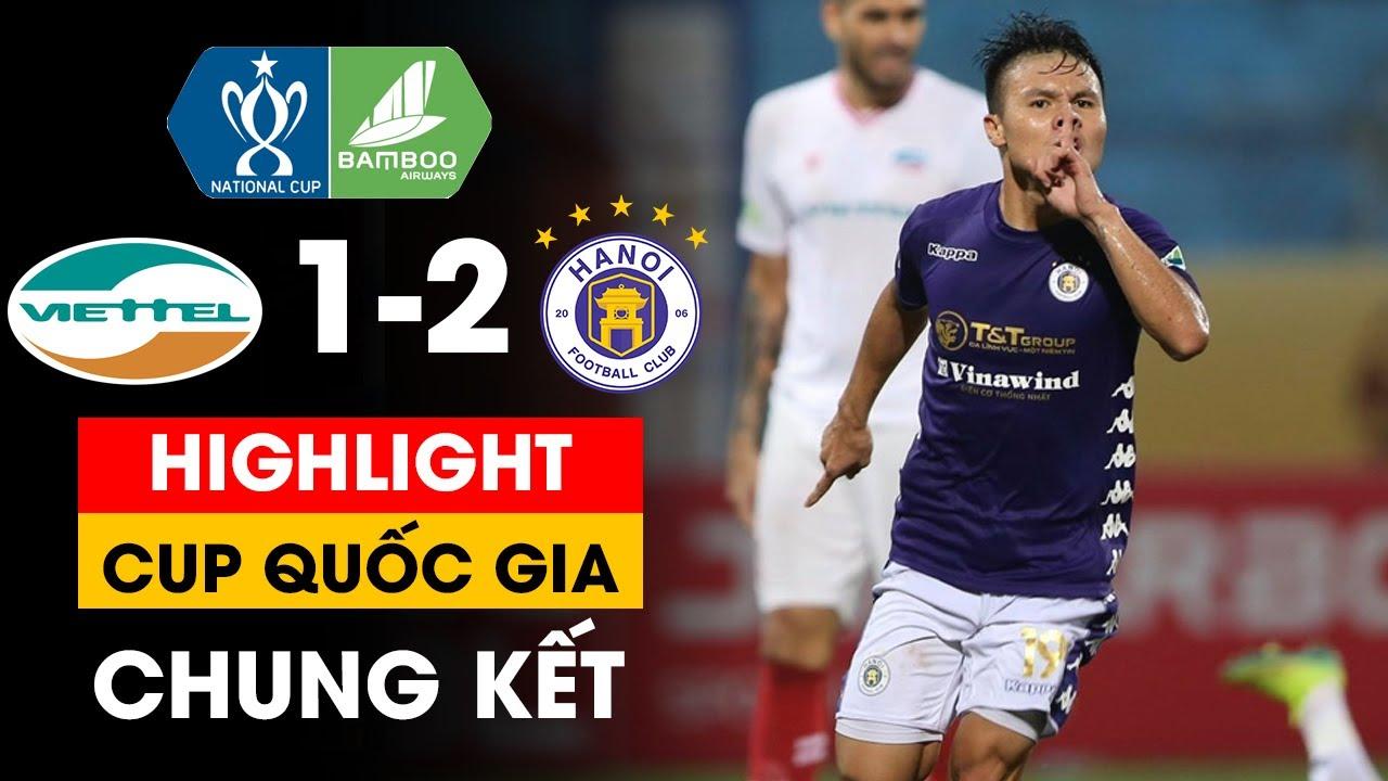 Highlight Viettel 1-2 Hà Nội |Quang Hải vô lê đẳng cấp, Hà Nội ngược dòng kịch tính| Khán Đài Online