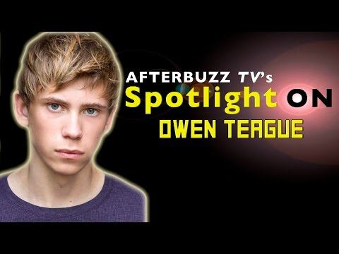 Owen Teague Interview | AfterBuzz TV's Spotlight On