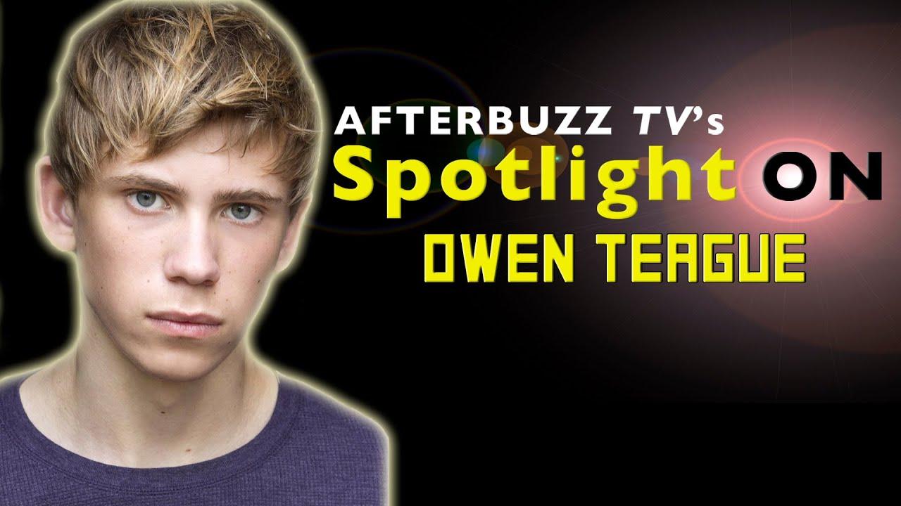 Ana Ayora Age owen teague interview   afterbuzz tv's spotlight on