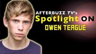 Owen Teague Interview | AfterBuzz TV's Spotlight On