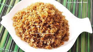 Aval /Poha Vilayichathu(Jaggery Candied Rice Flakes)- chinnuz' I Love My Kerala Food