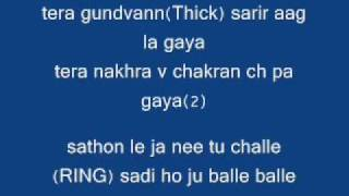 Jaz dhami - Theke wali with lyrics(HD)