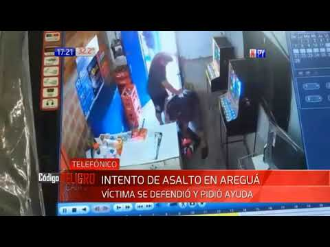 Comerciante se enfrentó y redujo a ladrón que le atacó con cuchillo