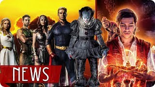 ALADDIN 2   Han in FAST 9?   ES 2 Preview   THE BOYS 2 - FILM NEWS