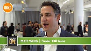 RIND Snacks Speaks on NOSH Live Experience