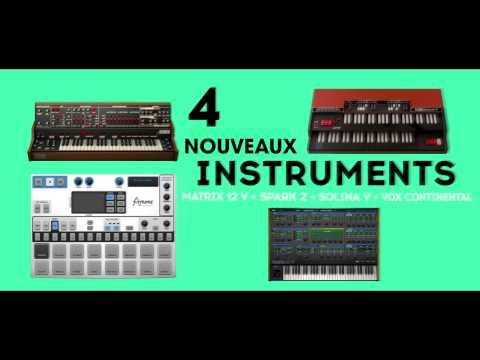 ARTURIA V-COLLECTION 4 : Des instruments virtuels professionnels (La Boite Noire)