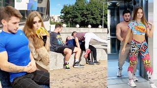 SHMEKSSS- HOT BODY BUILDER VIRAL VIDEOS | Prank in Public | New Prank Videos | Prank Gone Wrong Pt-2