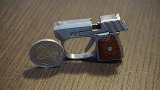 Little key chain pistol for the cap gun ammo