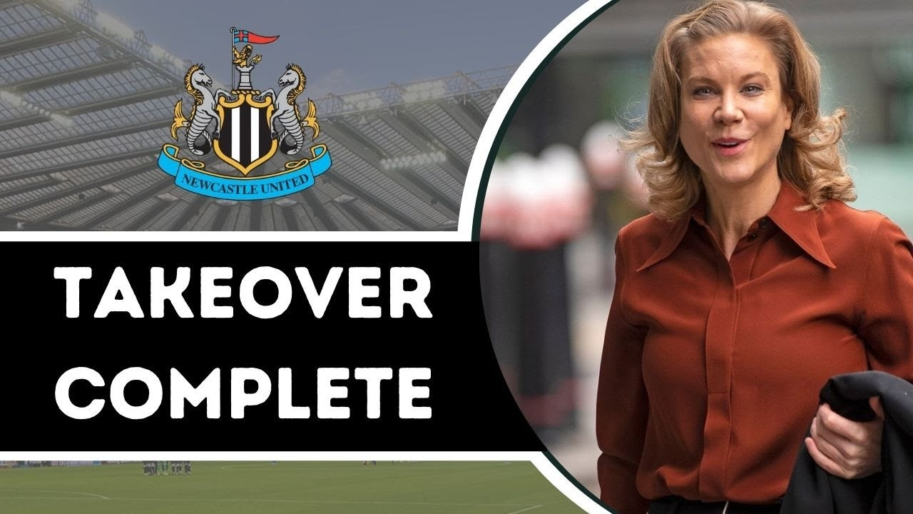 NEWCASTLE UNITED TAKEOVER IS COMPLETED!!!