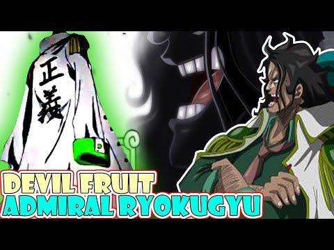 TEORI, Mengungkap Devil Fruit Admiral Ryokugyu & AlaSan Kenapa Dia Tidak Makan Selama 3 Tahun
