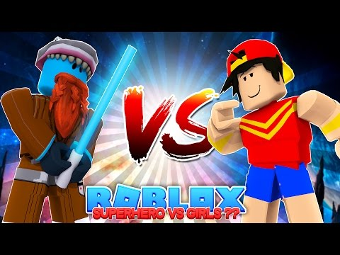 SUPERHERO BATTLE, BUT ROPO IS WONDER WOMAN??? Sharky Gaming | Roblox