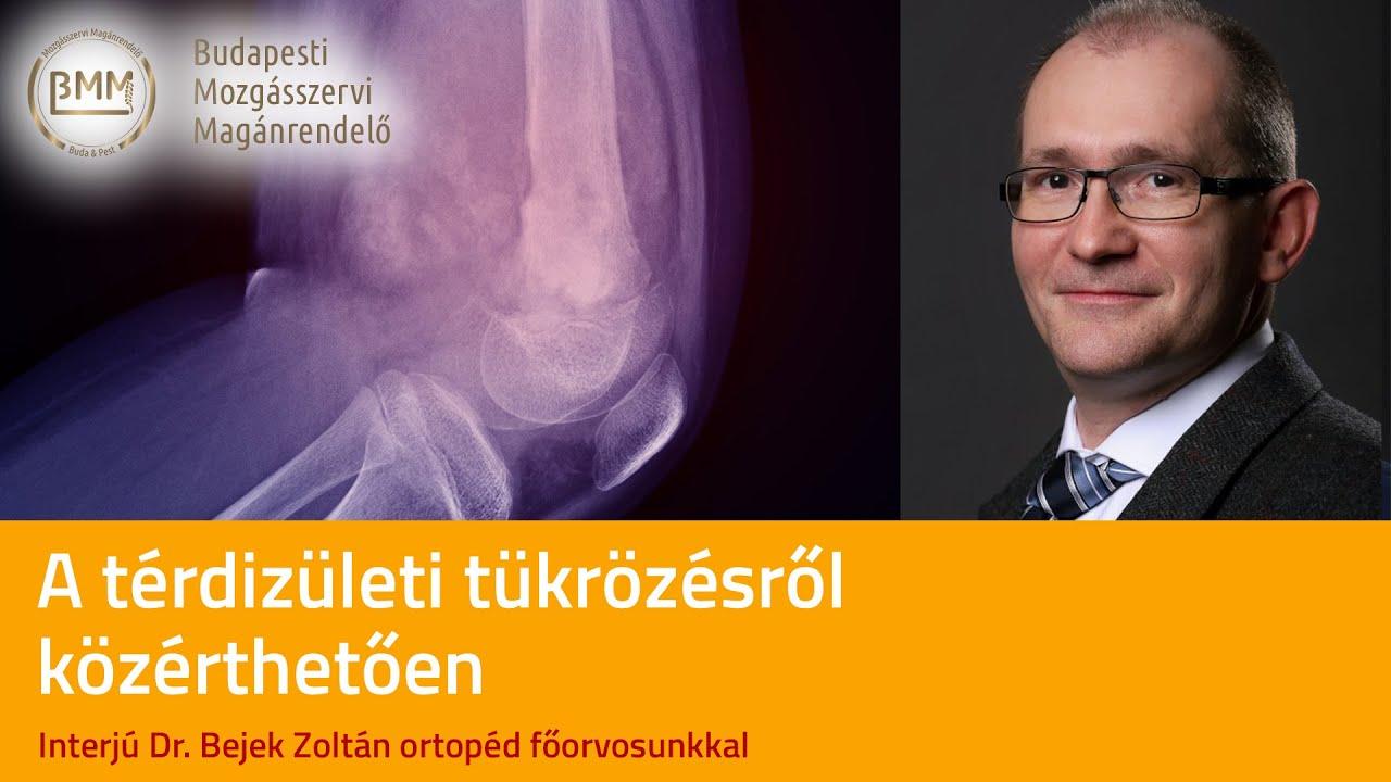 Artroszkópos porcfelszínkezelés II.   Dr Hidas Péter Ph.D. ortopéd-sportsebész főorvos