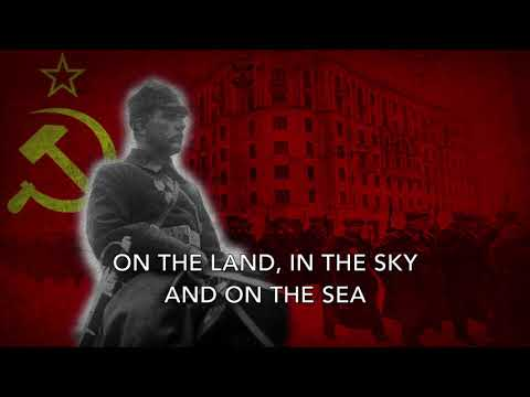If Tomorrow Brings War - Soviet Pre-WW2 Song (Stalin Version)