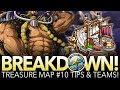 TREASURE MAP #10 TIPS & TEAMS! Preparation Against Jack! (One Piece Treasure Cruise - Global)