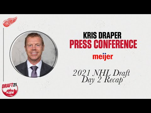 Kris Draper 2021 Detroit Red Wings NHL Draft Recap