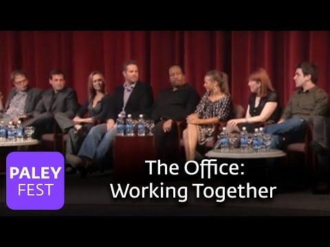 The Office  David Denman & Cast on Working Together Paley Center, 2007